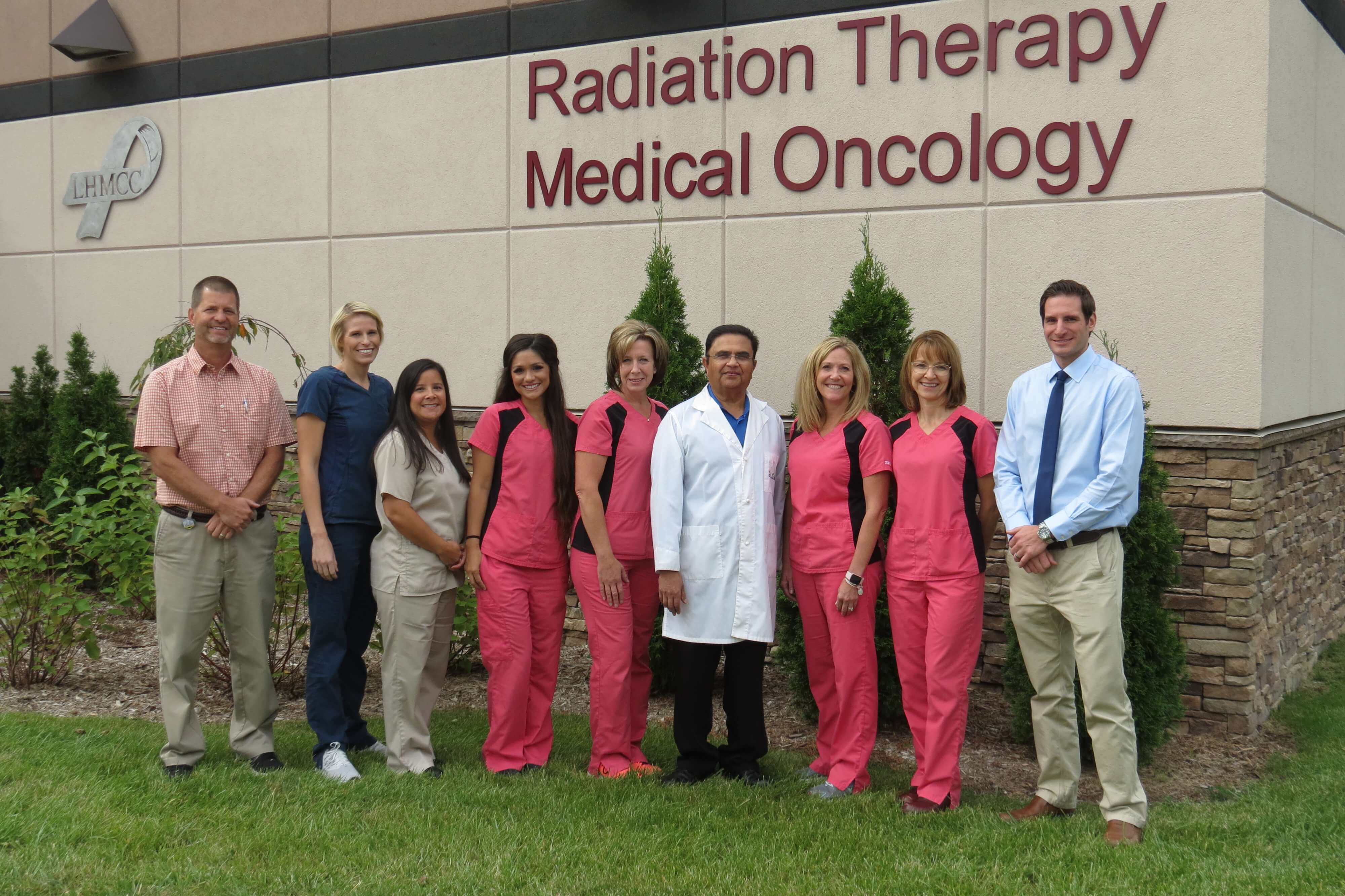 Radiation therapy staff